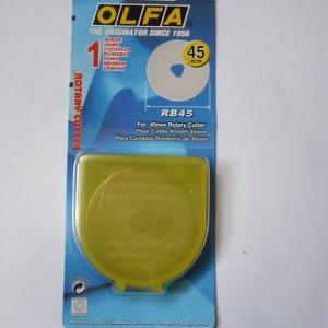 OLFA-Ersatzklinge für Rollschneider Maxi