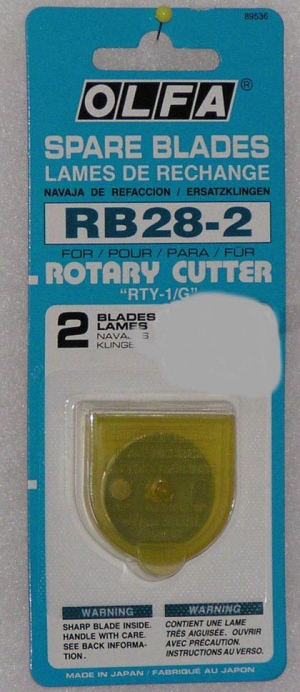 Ersatzklingen für Rollschneider Mini 28mm611373x