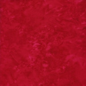 Batik Uni Tonga REd REststück 80 cm