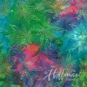 Hoffman Bali Batik Hand Paint Fat-Quarter 45x55cm