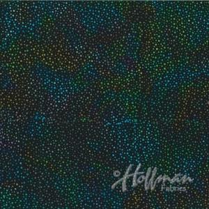 Hoffman Bali Batik Hand Paint (885-657-Spectrum)