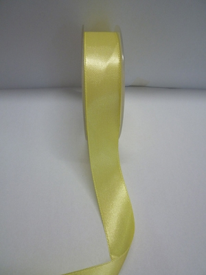 Satinband 25 mm breit-GELB