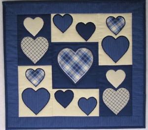 Blue Hearts- Nähanleitung
