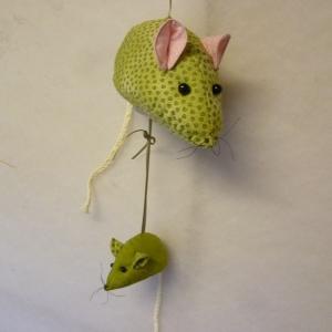 Nähanleitung für Maus und Mäuschen (für Spieluhr)