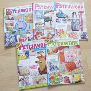 Lena`s Patchwork 41 - 45 von 2015 - 5 Hefte