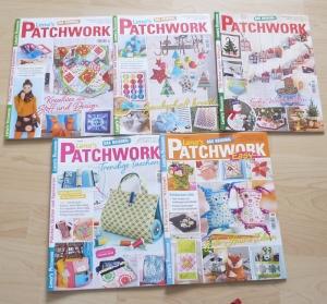 Lena`s Patchwork 46 - 50 von 2015 - 5 Hefte