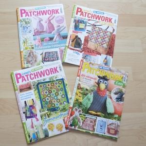 Lena`s Patchwork 61 -64 von 2017 - 4 Hefte