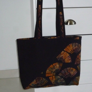 Nähanleitung Batik-Tasche