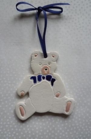 Teddy Keramik 1 Stück