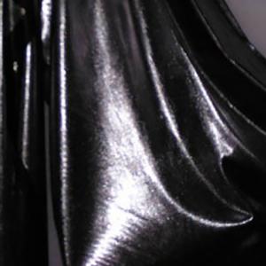 Silberstoff Folie weich fließend
