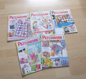 Lena`s Patchwork 51 - 55 von 2016 - 5 Hefte